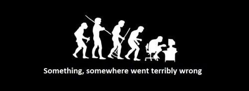 evolution gone wrong - ahmad al charif blog