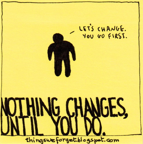 change is inevitable - ahmad al charif blog